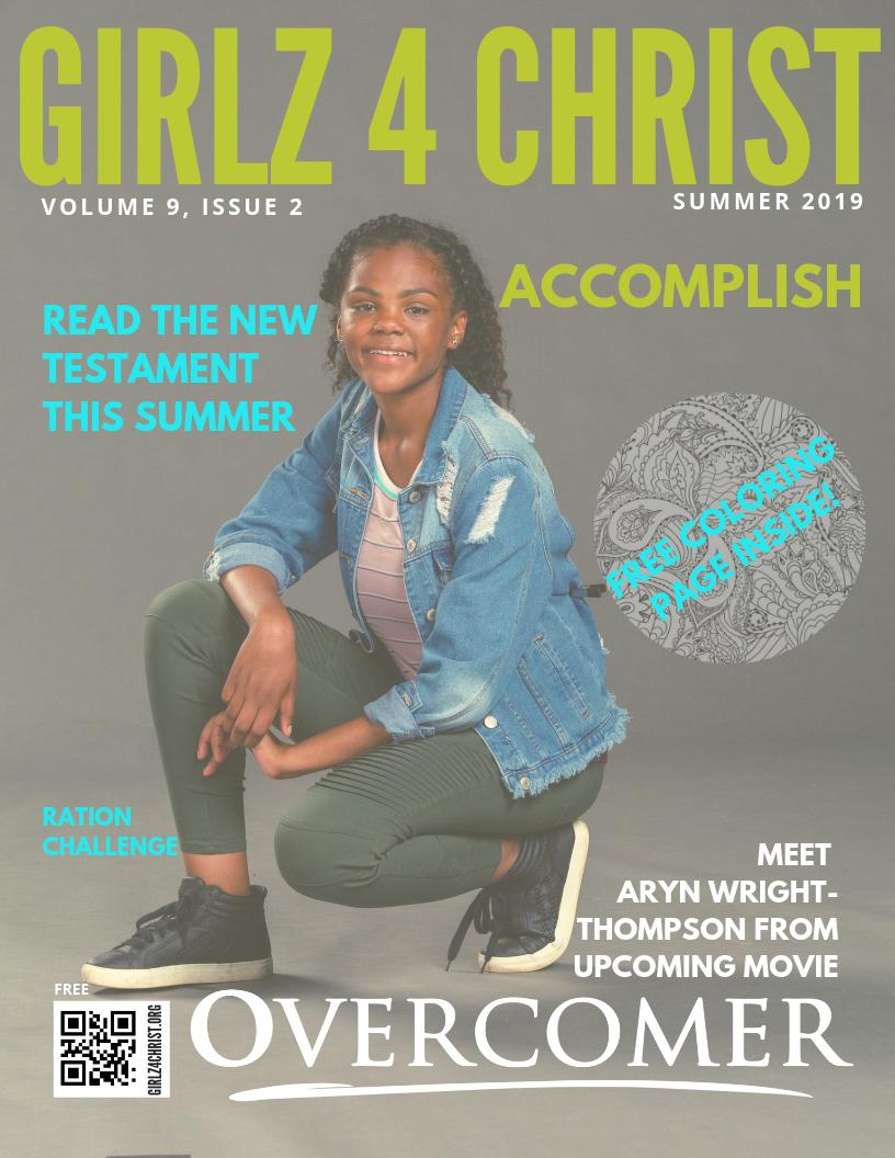Girlz 4 Christ Magazine Summer 2019